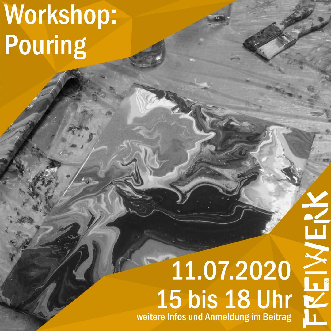 Workshop: Acryl-Pouring mit Raphael (ausgebucht)
