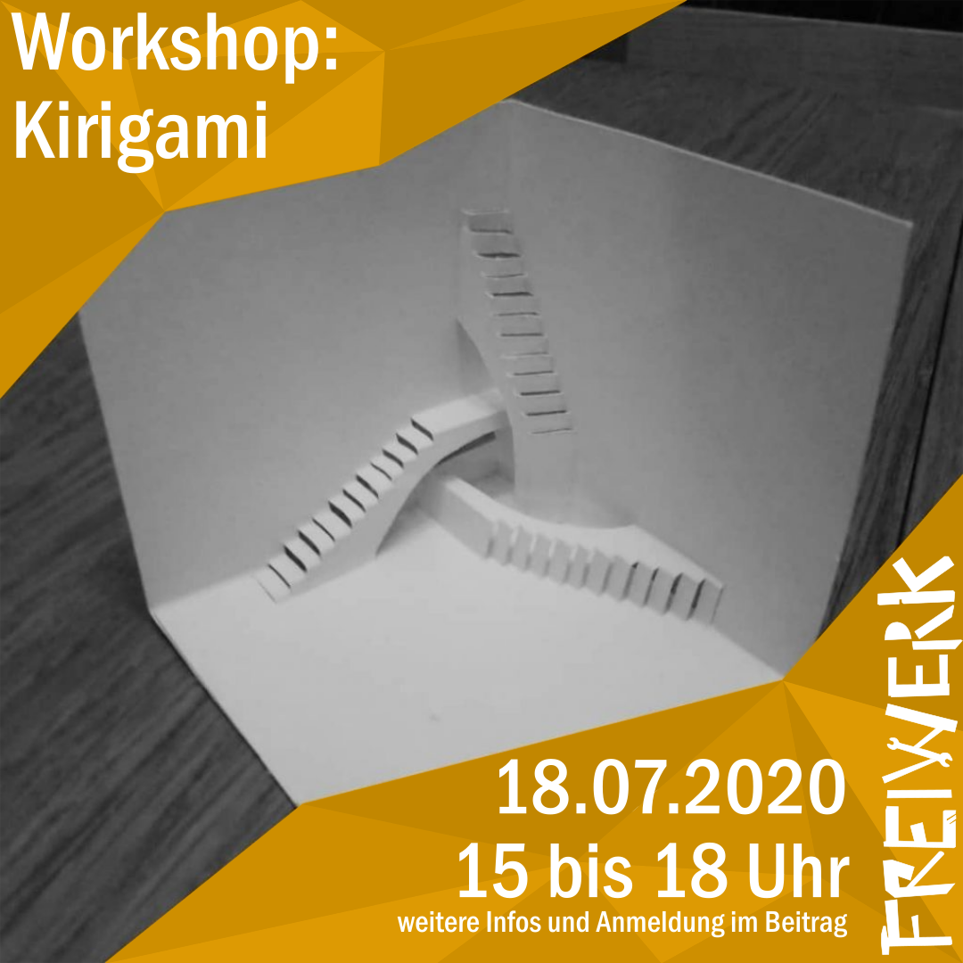Workshop: Kirigami mit Ben