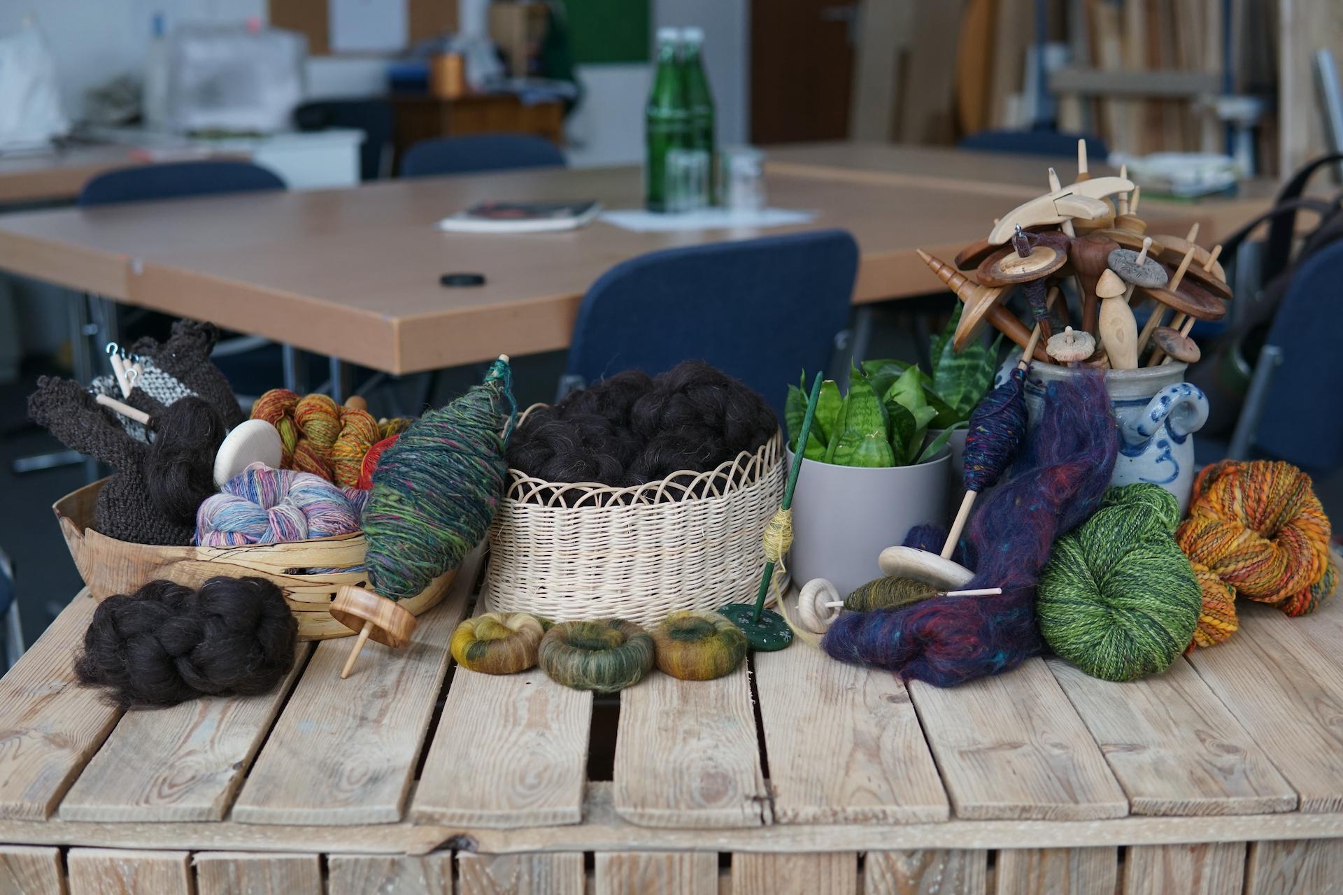 Workshop: Schnupperkurs Handspinnen für Erwachsene